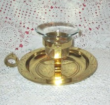 Vintage Partylite Ships Bell Scounce or Flat Candle Holder - $24.19