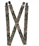 Mossy Oak Camo Logo Suspenders  - $13.99