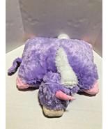 "Pillow Animal Lavendar Unicorn Pets 18"" Bed Stuffed Plush - $27.71"