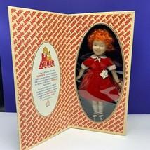 Little orphan Annie Applause porcelain doll 1982 nib box Aileen Quinn to... - $64.30