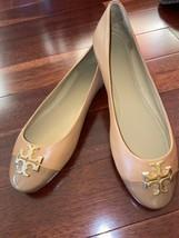 NWOB Tory Burch Everly Cap Toe Tan Ballet Flat  sz 11M - $159.99