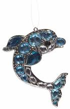 Gnz Crystal Expressions Majestic Dolphin Zinc Ornament w/Acrylic Crystals - $11.76