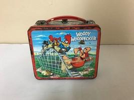 WOODY WOODPECKER METAL LUNCH BOX WALTER LANTZ 1972 NO THERMOS       #1144 - $73.52