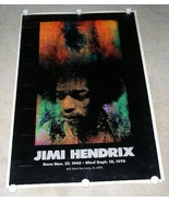 JIMI HENDRIX POSTER VINTAGE 1970 SUNSET MARKETING ALL THAT HE WAS STILL IS - $199.99