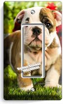 Cute French Bulldog Puppy Dog Single Gfi Light Switch Wallplate Cover Room Decor - $8.99