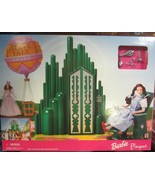 The Wizard of Oz Barbie Playset Omaha State Fair  Emerald City two dolls - $142.50