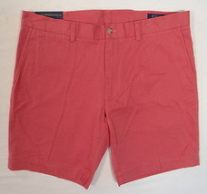 Polo Ralph Lauren Nantucket Red Classic Fit Flat Front Casual Shorts Men's NWT - $52.49