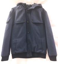 Jack & Jones Men's Vepal Bomber Parka Jacket, Navy, 3XL - $73.26