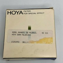 Hoya PL 58.0s 58mm  -  Polarizing Filter for Special Effect - Made in Japan - $9.49