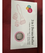 3in 1 Derma Roller Roller 3 Heads Micro Needle Skin Roller - $16.19