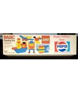 LEGO Basic Building Pepsi (1985) Vintage Promo Toy Set 1560 - $39.20