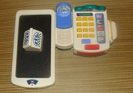 Vintage Fisher Price Grocery Store Cash Register Electronic Supermarket Toy - $29.99