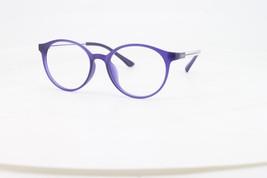 Ebe Reading Glasses Mens Womens Purple Round Horn Rimmed Classic Anti Glare - $27.86+