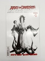 Army of Darkness Ash Gets Hitched #1 Black & White Variant Cover Dynamit... - $19.27
