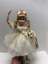 Boyds Bears Yesterday's Child Porcelain DollMelissa #10511 1999 w/ Stan... - $69.25