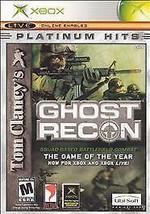 Tom Clancy's Ghost Recon (Microsoft Xbox, 2002) GOOD - $3.76