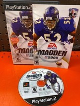 Madden NFL 2005 PS2 Playstation 2 Mint Never Used - $8.02