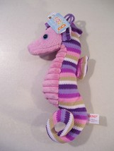 "NEW GUND BUBBLY THE SEAHORSE 8"" PLUSH, PURPLE SEA CREATURE TOY - $9.26"