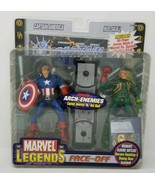 Marvel Legends Face-Off Arch Enemies Captain America vs Red Skull Comic NIB - $79.99