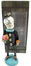 Dept 56 Pumpkinseeds Halloween Skeleton Figurine Janell Berryman Day of ... - $18.80