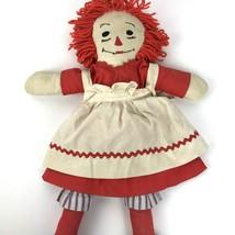 """Vintage Hand Made Raggedy Ann Red Head 20"""" Doll plush - $29.69"""