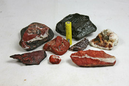 Stones from Iceland, - Small collection of colors. Iceland crystals and ... - $64.35