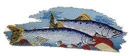 Nature's Bounty Beautiful Custom Fish Portraits[ Pink salmon] Embroidere... - $11.87