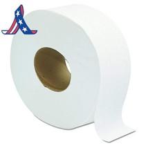 Jumbo Jrt Ultra Bath Tissue, 2-Ply, White, 9 In Diameter (Case Of 12 Rolls) - $34.11