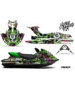 Full Body Wrap Graphic Sticker Decal for Kawasaki STX-15F - Frenzy Green - $277.15