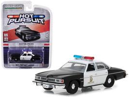 1977 Pontiac LeMans Denton Police (Texas) Hot Pursuit Series 28 1/64 Die... - $13.18