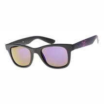 MLC EYEWEAR  Wild Safari Retro Square Frame Sunglasses UV400/Purple/medium - $9.96