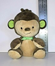 "Fisher Price My Little SnugaMonkey Brown Tan Monkey 6"" Bean Bag Plush Ba... - $9.95"