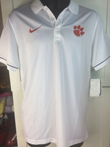 CLEMSON TIGERS POLO SHIRT- NIKE ELITE ON FIELD SHIRT-ALL SIZES-NWT-$75 R... - €35,49 EUR+