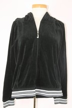 Juicy Couture Women's Black Track Jacket - $16.73