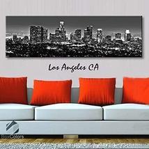 Original by BoxColors Single panel 3 Size Options Art Canvas Print Los A... - $59.00