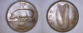 1966 Irish Half 1/2 Penny World Coin - Ireland - $8.99