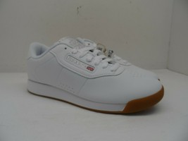 Reebok Women's Princess Casual Athletic Shoes BS8458 White/Gum Size 7.5M - $56.99