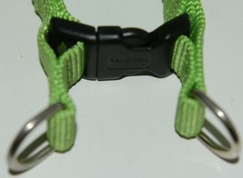 Valhoma 735 LG 3/4 inch Quick Fit Adjustable Dog Harness Lime Green Medium Nylon image 2