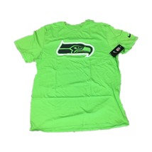 NWT NEW Seattle Seahawks Nike Men's Travel Pack Neon Green Shirt Size XX... - €15,39 EUR