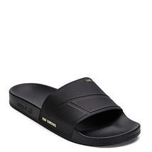 Adidas X Raf Simons Men's Bunny Adilette Slide Slipper BY9813 Black UK 4... - $111.87