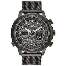 Citizen Mens Watch JY8036-52E Black Promaster Navihawk A-T Eco-Drive - $529.99