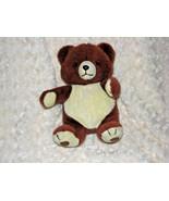"10"" VINTAGE 1982 ANTICS TEDDY BEAR STUFFED ANIMAL PLUSH TOY BROWN TAN BE... - $37.61"