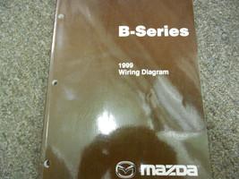 1999 Mazda B-Series Truck Electrical Wiring Diagram Service Repair Shop Manual x - $79.20