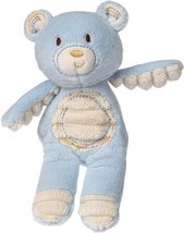 Mary Meyer Thready Teddy Plush Rattle, Blue - $9.99