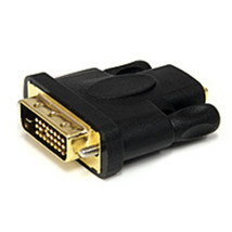 StarTech HDMIDVIFM HDMI to DVI-D Video Cable Adapter - F/M - Black - $20.17