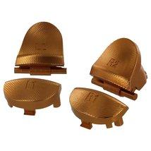 ZedLabz aluminum alloy metal L2 R2 trigger & L1 R1 buttons for PS4 contr... - $21.09 CAD