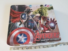 Marvel Avengers Art Set Age of Ultron Stationery Markers Stamps Crayons - $7.84