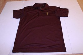 Men's Arizona State Sun Devils S Athletic Performance Polo Collared Dres... - $18.69