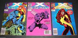 3 1989-90 Marvel Comics X FACTOR 46 F,47 F,48 VG  Comic Books - $11.69