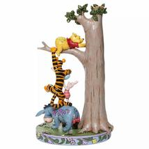 """8.75"""" """"Hundred Acre Caper """" Winnie the Pooh, Tigger, Eeyore, Piglet in a Tree image 4"""